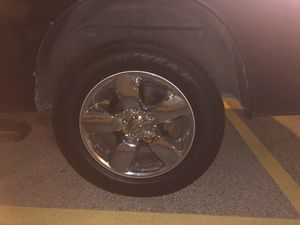 Dodge Ram loan star rim and tire 20' for Sale in Katy, TX