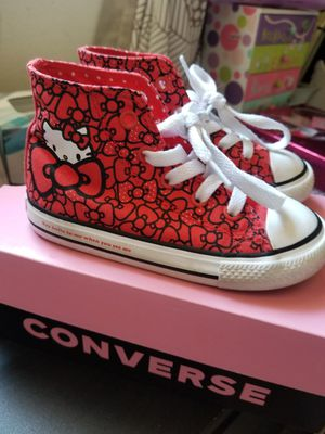 Toddler Hello Kitty Converse for Sale in undefined