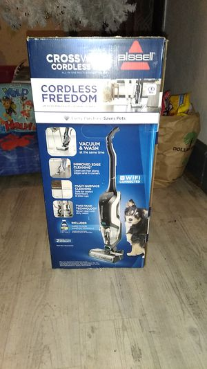 BISSELL CrossWave Cordless Max All-in-One Wet-Dry Vacuum and Mop for Hard Floors & Area Rugs for Sale in Portland, OR