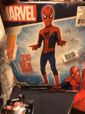 Spider man kids costume 10-12 for Sale in Ellicott City, MD