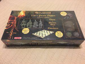 Pirates of the Caribbean 3-in-1 board game POTC for Sale in Altamonte Springs, FL
