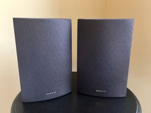 Onkyo SKM-530S Bookshelf Surround Sound Speakers Right/Left Pair for Sale in Suwanee, GA