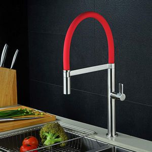 Vibrant Red Kitchen Sink Pull Down Faucet for Sale in Tamarac, FL