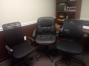 Office chairs $15 each for Sale in Winter Park, FL