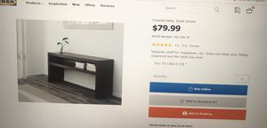 MOVING SALE!IKEA table/TV stand for Sale in West McLean, VA
