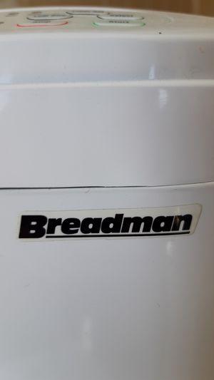 Breadman bread maker for Sale in Fresno, CA