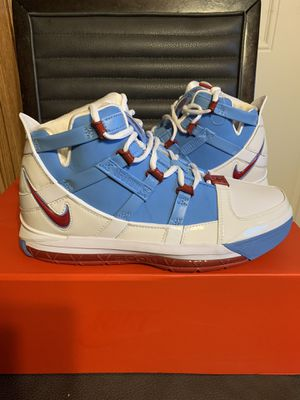 Brand new nike zoom lebron 3 QS size 9.5 with box for Sale in San Antonio, TX
