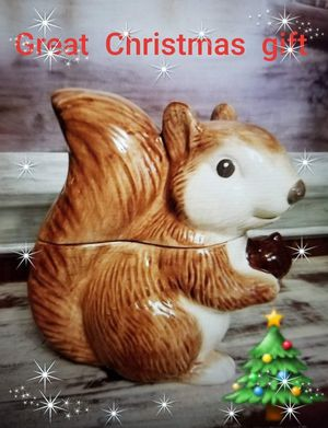 Squirrel cookie jar for Sale in Modesto, CA