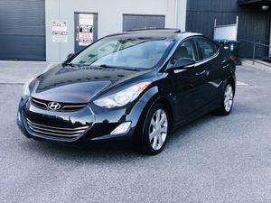 2012 Hyundai Elantra limited edition fully loaded !!! for Sale in Tacoma, WA