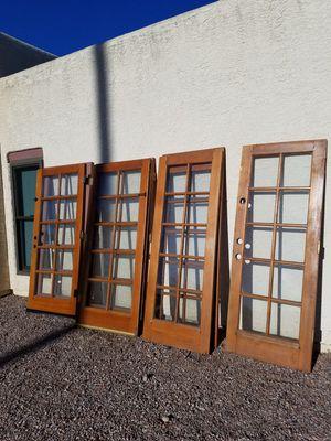 (7 ) Window Pane French Doors for Sale in Glendale, AZ