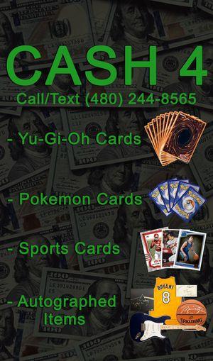 Yugioh Pokémon autographs selling!? for Sale in Chandler, AZ
