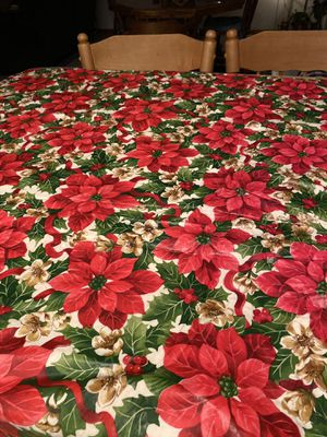 Beautiful Christmas Tablecloth for Sale in Vancouver, WA