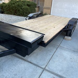 6x14 Dual Axle Flat Bed Trailer for Sale in Victorville, CA