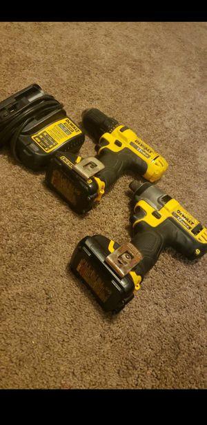 Dewalt 12v drill set for Sale in Tacoma, WA