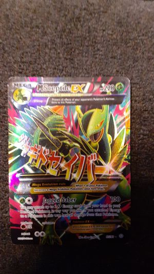 M Sceptile EX pokemon card for Sale in Willow Spring, NC