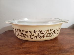 Pyrex Golden Grapes 045 Casserole dish for Sale in Hyattsville, MD