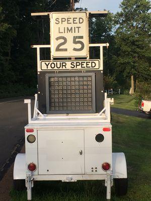 Radar trailer radar machine works great!!! for Sale in Hamden, CT