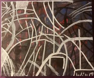 """Orginal Abstract art by """"Will Stevens"""" for Sale in Bel Air, MD"""