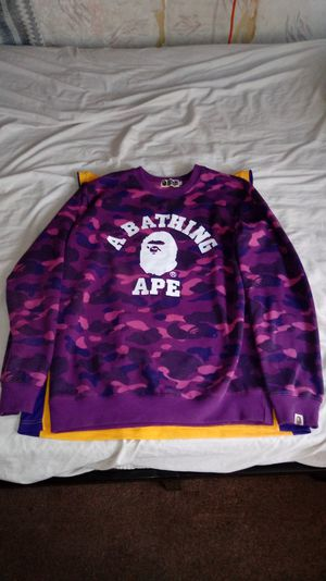 Bape designer sweatshirt for Sale in Gardena, CA