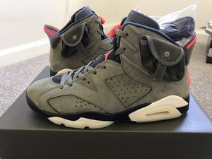 Jordan 6 Retro 'Travis Scott' Cactus Jack Sz. 11 for Sale in Anaheim, CA