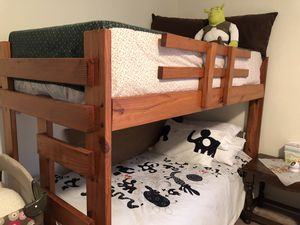 Wooden bunk beds for Sale in West Long Branch, NJ