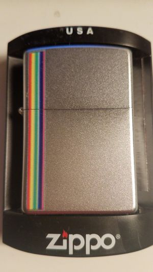 Zippo colorz satin chrome 24340 for Sale in Los Angeles, CA