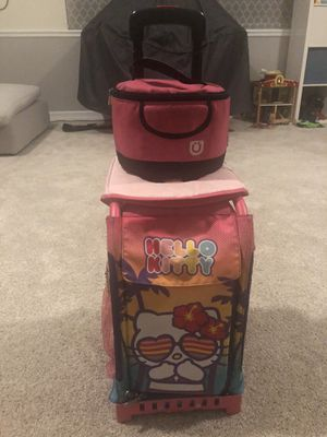 Zuca Hello Kitty Bag with cushion and lunch sack for Sale in Orange, CA