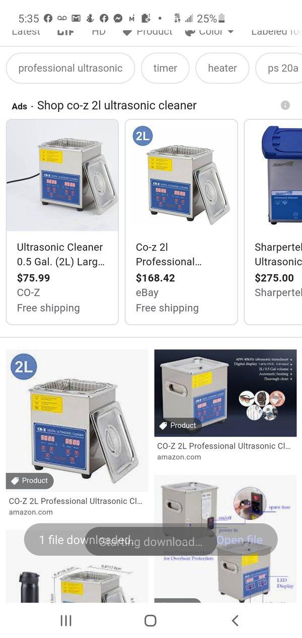 Co-z digital ultrasonic cleaner