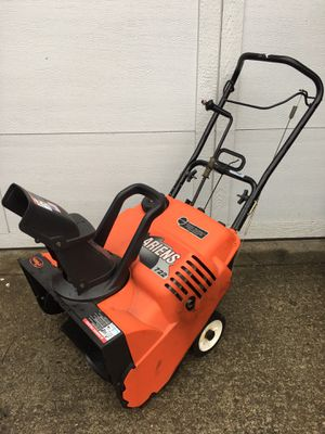 """Ariens 7hp 22"""" Electric start EZ Shoot control snowblower starts first pull. Delivery is available for Sale in Albany, NY"""