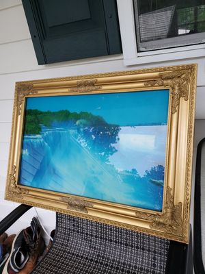 Electric water fall frame for Sale in Durham, NC