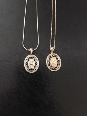 Gold plated allah pendant with chain ($12 each) for Sale in Philadelphia, PA