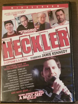 Heckler dvd movie for Sale in Three Rivers, MI