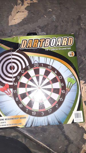 "14 inch dart board with mini darts ""New"" for Sale in Fontana, CA"
