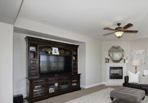 Beautiful baker furniture solid wood entertainment center and TV stand. for Sale in Granite Bay, CA