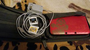 Nintendo 3DS XL with two games and case for Sale in Reedley, CA
