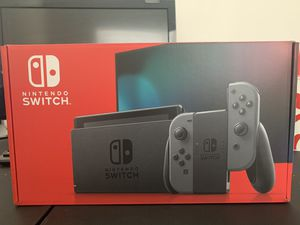 Nintendo Switch Black/Gray for Sale in Silver Spring, MD