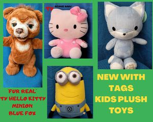 Plush toys for the kids during covid-19 new with tags for Sale in Anaheim, CA