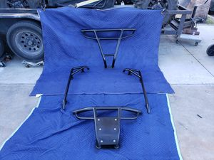 Black rzr bumpers and nerf bars for Sale in Garden Grove, CA