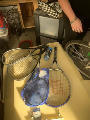 Racket ball and one tennis racket for Sale in Glendale, AZ