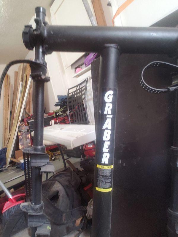 Rack for bike holding 3 bikes