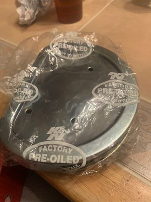 Harley Davidson k&N air filter for Sale in Mount Laurel Township, NJ