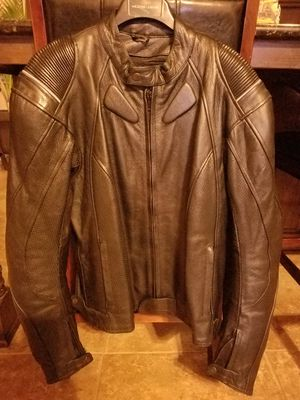 6th Gear Leather Motorcycle Jacket for Sale in Forney, TX