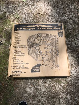 K-9 Keeper exercise pen for Sale in Fairfax, VA