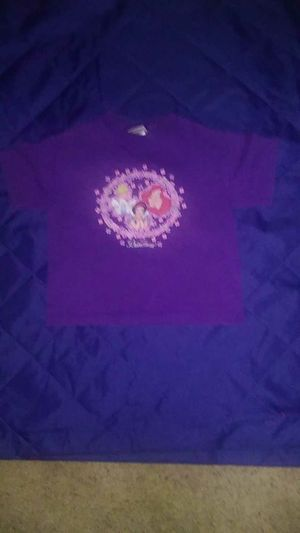 SZ 4- purple princess shirt for Sale in Little Chute, WI