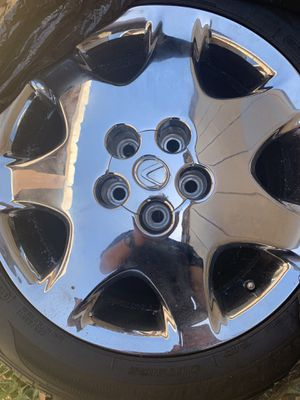 Oem lexus rims chrome for Sale in San Diego, CA