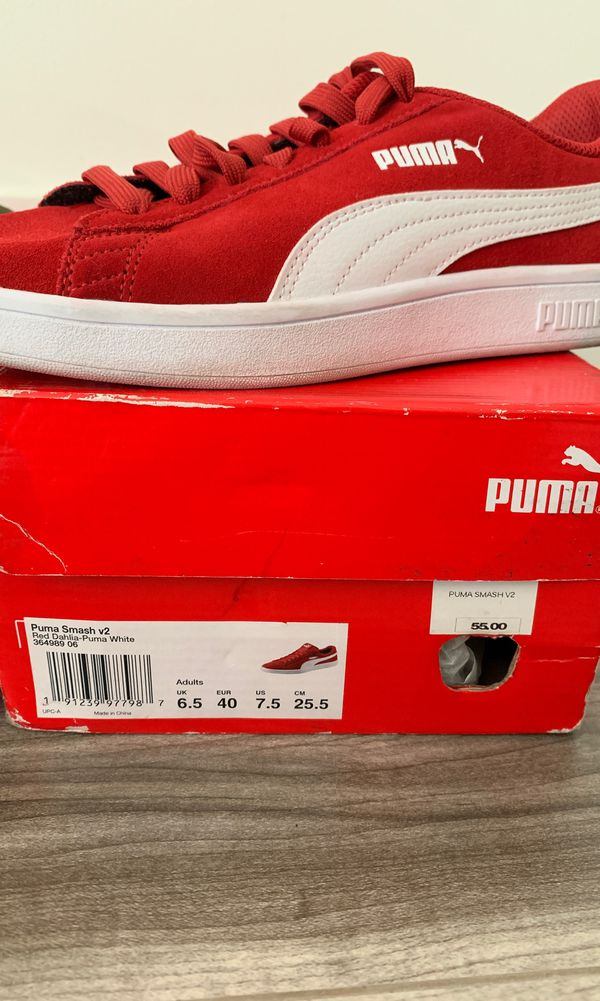Nike and puma shoes both worn once