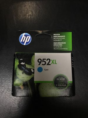HP 952XL Cyan printing ink for Sale in New York, NY