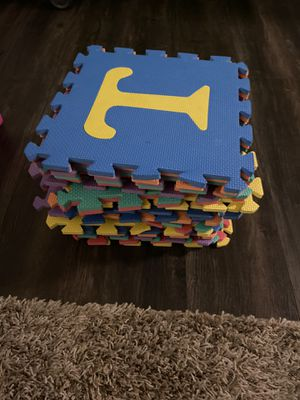 Alphabet puzzle for Sale in Costa Mesa, CA