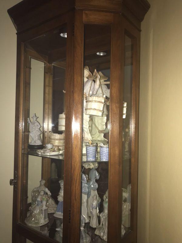 4 Tiered Curio Cabinet