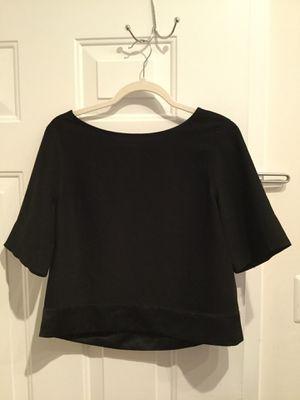 Black Banana Republic Top Shirt Blouse with Silk for Sale in Washington, DC